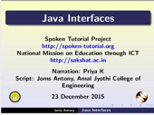 Java Interfaces - thumb