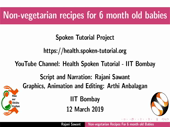 Non-vegetarian recipes for 6 month old babies - thumb
