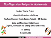 Non-vegetarian recipes for adolescents - thumb