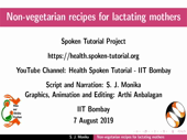 Non-vegetarian recipes for lactating mothers - thumb