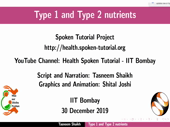 Type 1 and Type 2 nutrients - thumb