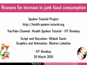 Reasons for increase in junk food consumption - thumb