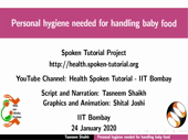 Personal Hygiene needed for handling baby food - thumb