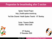 Preparation for breastfeeding after C-section - thumb