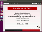 Installation of QGIS - thumb