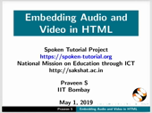 Embedding Audio and Video - thumb