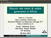 Electric rule checking and Netlist generation - thumb