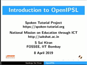 Introduction to OpenIPSL - thumb