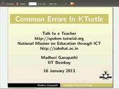 Common Errors in KTurtle - thumb
