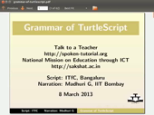 Grammar of TurtleScript - thumb