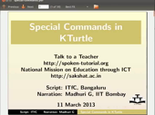 Special Commands in KTurtle - thumb