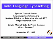 Indic Language Typesetting in LaTeX - thumb