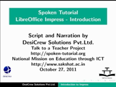 Introduction to LibreOffice Impress - thumb