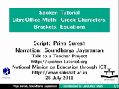 Using Greek characters Brackets Steps to Solve Quadratic Equation - thumb