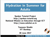 Hydration in Summer for Adults - thumb
