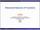 Advanced features of functions - thumb