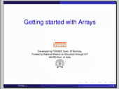 Getting started with arrays - thumb