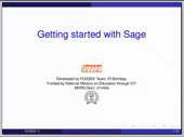 Getting started with sage notebook - thumb