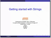 Getting started with strings - thumb