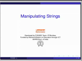 Manipulating strings - thumb