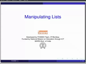 Manipulating lists - thumb
