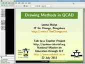 Drawing Methods in QCAD - thumb