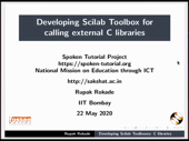 Developing Scilab Toolbox for calling external C libraries - thumb