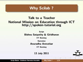 Why Scilab