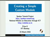 Creating a simple custom module - thumb