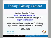 Editing Existing Content - thumb