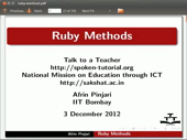 Ruby Methods - thumb