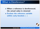 Referencing and Dereferencing - thumb