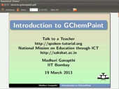 Introduction to GChemPaint - thumb