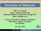 Formation of molecules - thumb