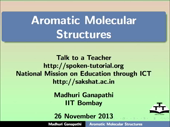 Aromatic Molecular Structures