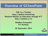Overview of GChemPaint - thumb