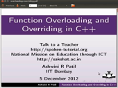 Function Overloading And Overriding - thumb