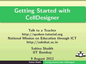 Getting Started with CellDesigner - thumb