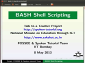 Introduction to BASH Shell Scripting - thumb