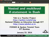 Nested and multilevel if elsif statements - thumb
