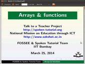 Arrays and functions - thumb