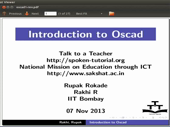 Introduction to Oscad