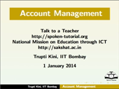 Account Management - thumb