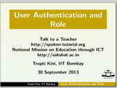User Authentication and Role - thumb