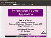 Introduction to Jmol Application - thumb