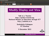 Modify Display and View - thumb
