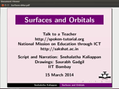 Surfaces and Orbitals - thumb