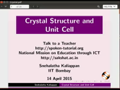 Crystal Structure and Unit Cell - thumb