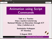 Animation using Script Commands - thumb