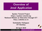 Overview of Jmol Application - thumb